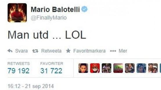 Il tweet del Balo