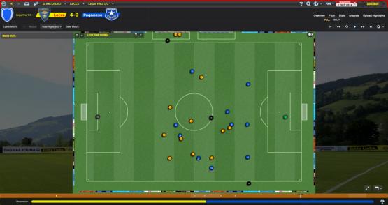 Lecce - Fase difensiva