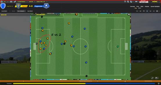 Lecce - Fase difensiva 3