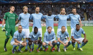 Malmo FF v Red Bull Salzburg - UEFA Champions League Qualifying Play-Offs Round: Second Leg