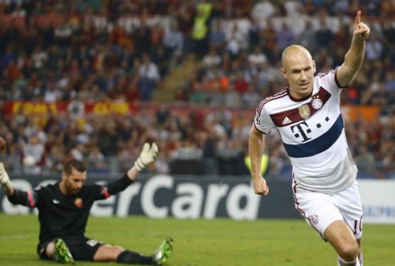 Robben, assoluto protagonista con una doppietta