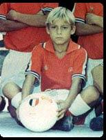 Totti a 10 anni,negli esordienti b della Lodigiani