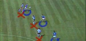 Italia-Argentina 1982 - marcature a uomo