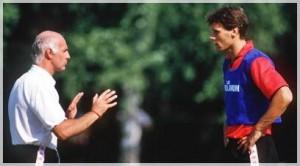 Sacchi e Van Basten