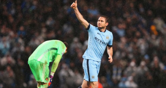 Lampard dopo la rete del 3-2