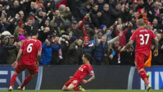 Magic Moment per Coutinho: eccolo esultare dopo il goal vittoria contro il City
