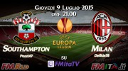 FMRLD Gruppi di Europa League 2016/2017 - Southampton vs Milan