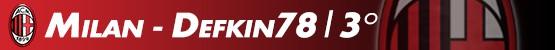 Milan - Defkin78 | 3a posizione
