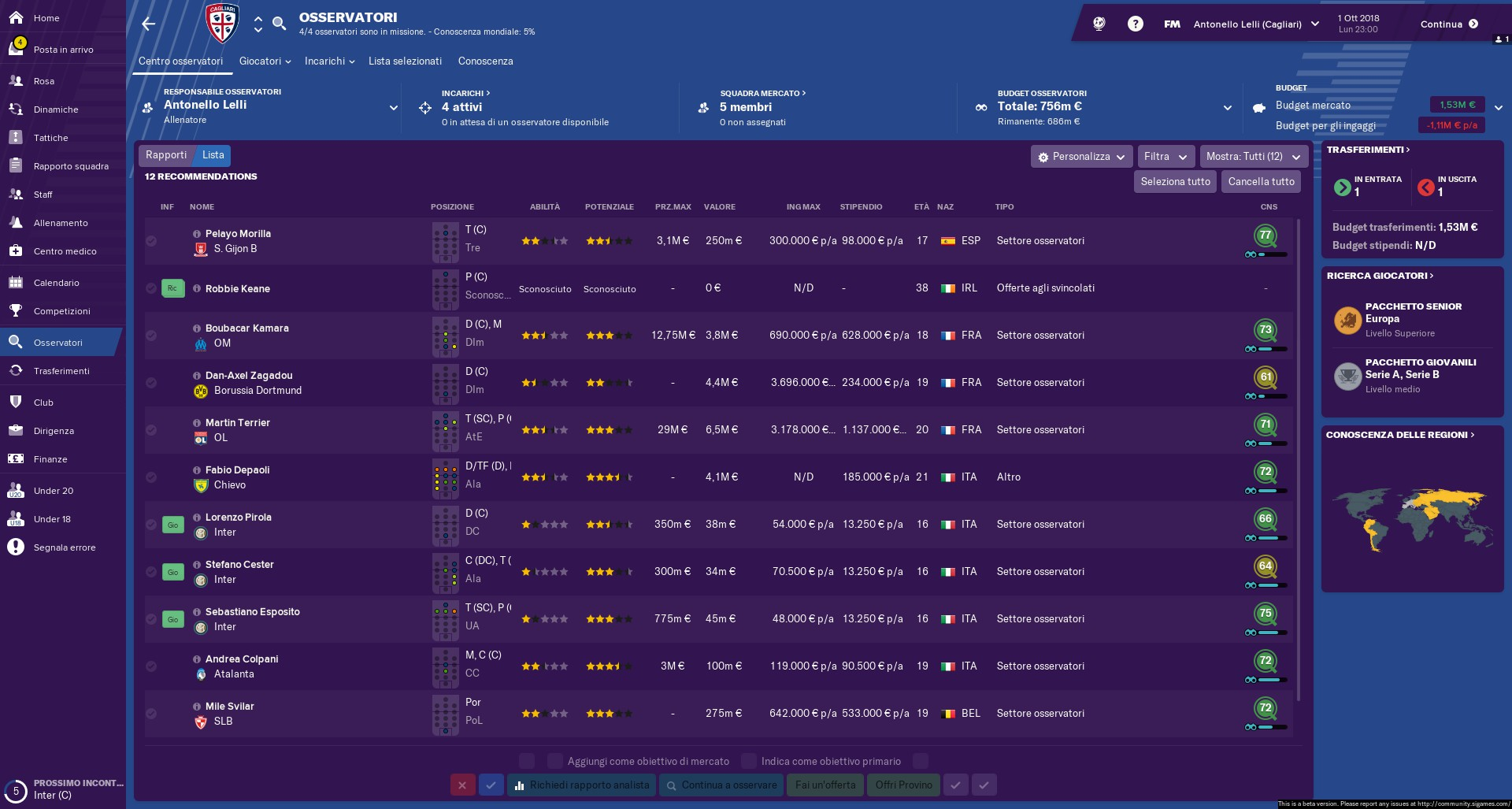 Scouting for dummies - FM19